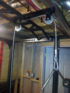 Homemade Lat Pulldown Machine