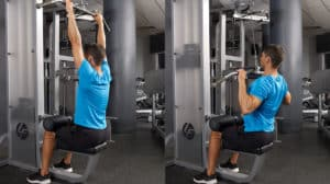 How Normal Lat Pulldown Machine is Different From Standing Lat Pulldown?