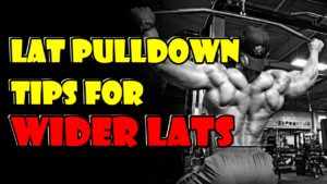 Technical Tips about Lat Pulldown Machine