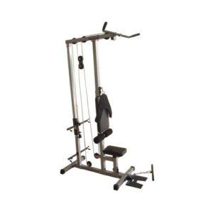 Valor Fitness CB-12 - Plate Loading Lat Pulldown Machine