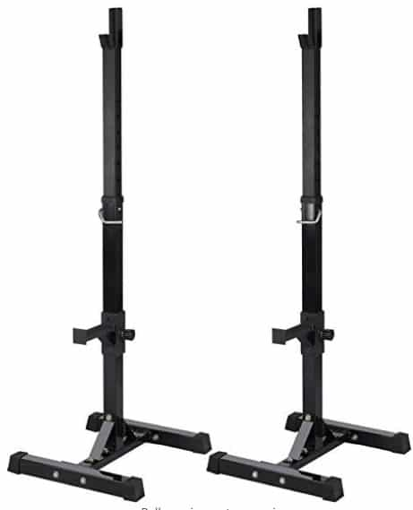 Topeakmart Adjustable Squat Rack