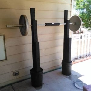 Home Made Squat Rack