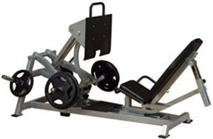 Body-Solid Leverage Horizontal Commercial Leg Press