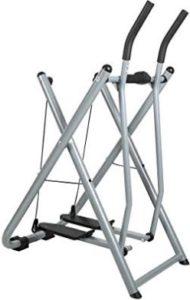 Folding Fitness Step Machine Air Walk Trainer Exercise Stepper Glider
