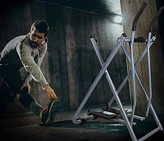 Dporticus Fitness Step Machines Air Walker Glider Elliptical Machine