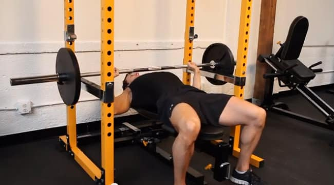 Squat Rack With Bench Press